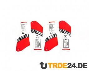 6020-22 Rotorblätter Satz Rot / Main Blades